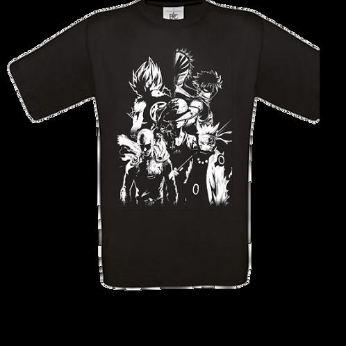 tee shirt enfant shonen jump manga