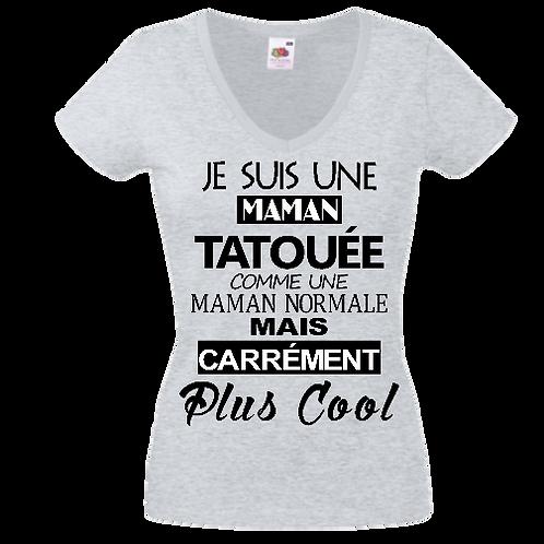 tee shirt maman tatouée femme