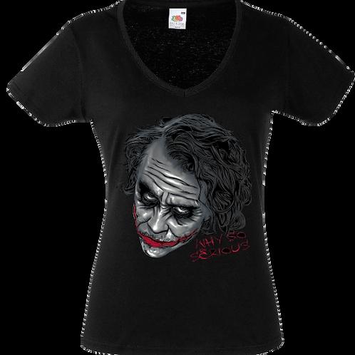 tee shirt why so serious joker batman