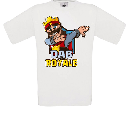 tee shirt enfant dab clash royal2 enfant