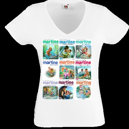 tee shirt Martine femme