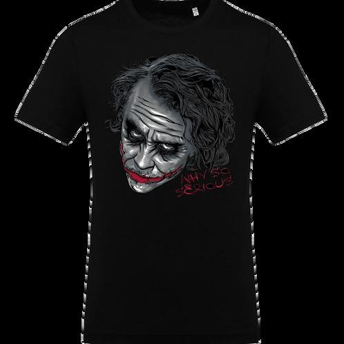 tee shirt why so serirous joker batman