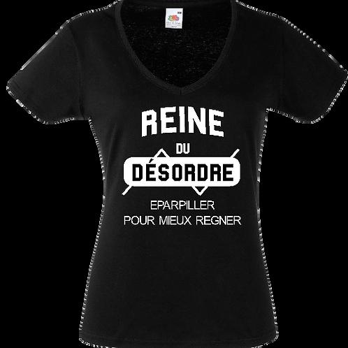 tee shirt reine du desordre femme