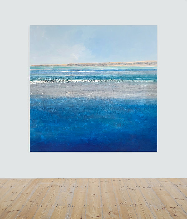 Shimmering Godrevy_2020_oil on canvas_16