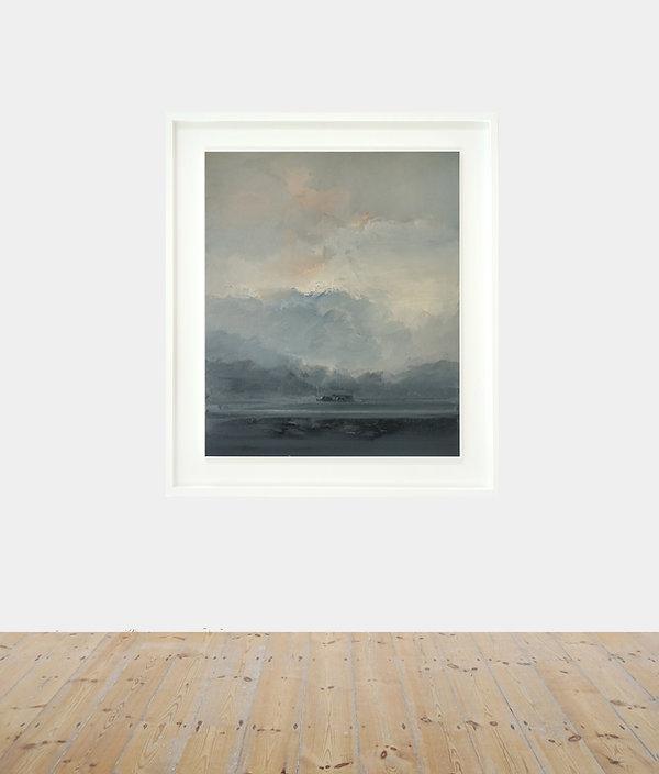 Pinnacle_oil on canvas_90 x 75 cm_115 x