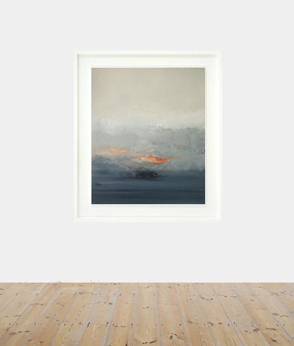 Ignite_oil on canvas_90 x 75 cm_115 x 10