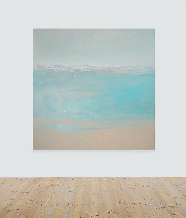 Convergence_oil on canvas_160 x 160 cm_£