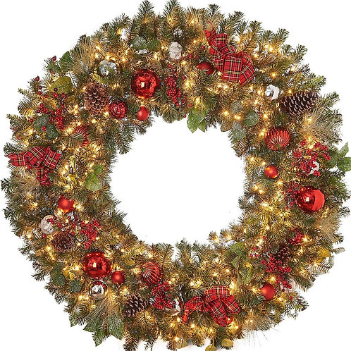 Premium Wreath LED 60""