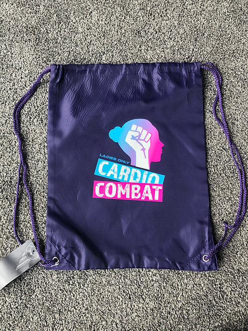 Cardio Combat  - Drawstring Bag