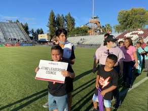 Thank You Sac Republic for Supporting Our Youth!