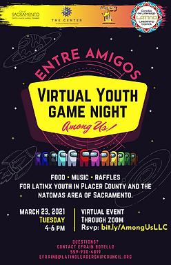 Virtual Youth Game Night