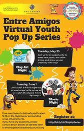 Entre Amigos Virtual Youth Pop Up Series - Movie Night