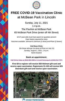 FREE Covid Vaccine Clinic