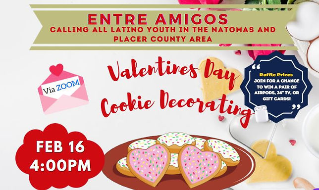 Entre Amigos Cookie Decorating Event