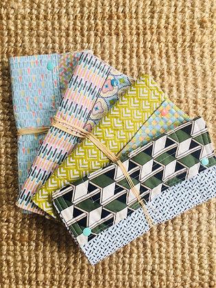 Essuie-tout lavable x4 feuilles coton BIO oeko Tex ©️