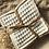 Thumbnail: Lot de 7 lingettes lavables coton BIO oeko Tex ©️