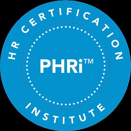 PHRi Certification Class