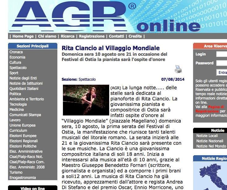 AGR Online