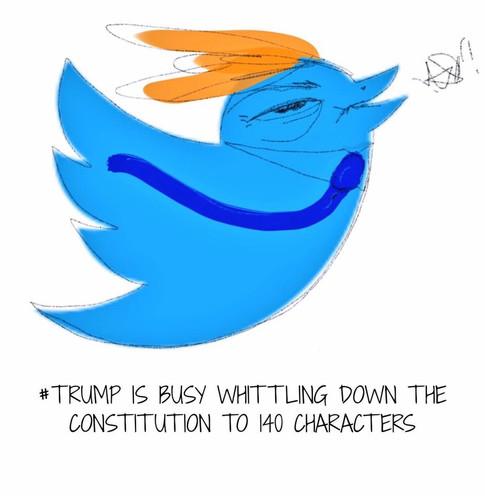 Trump Tweets like a Twit