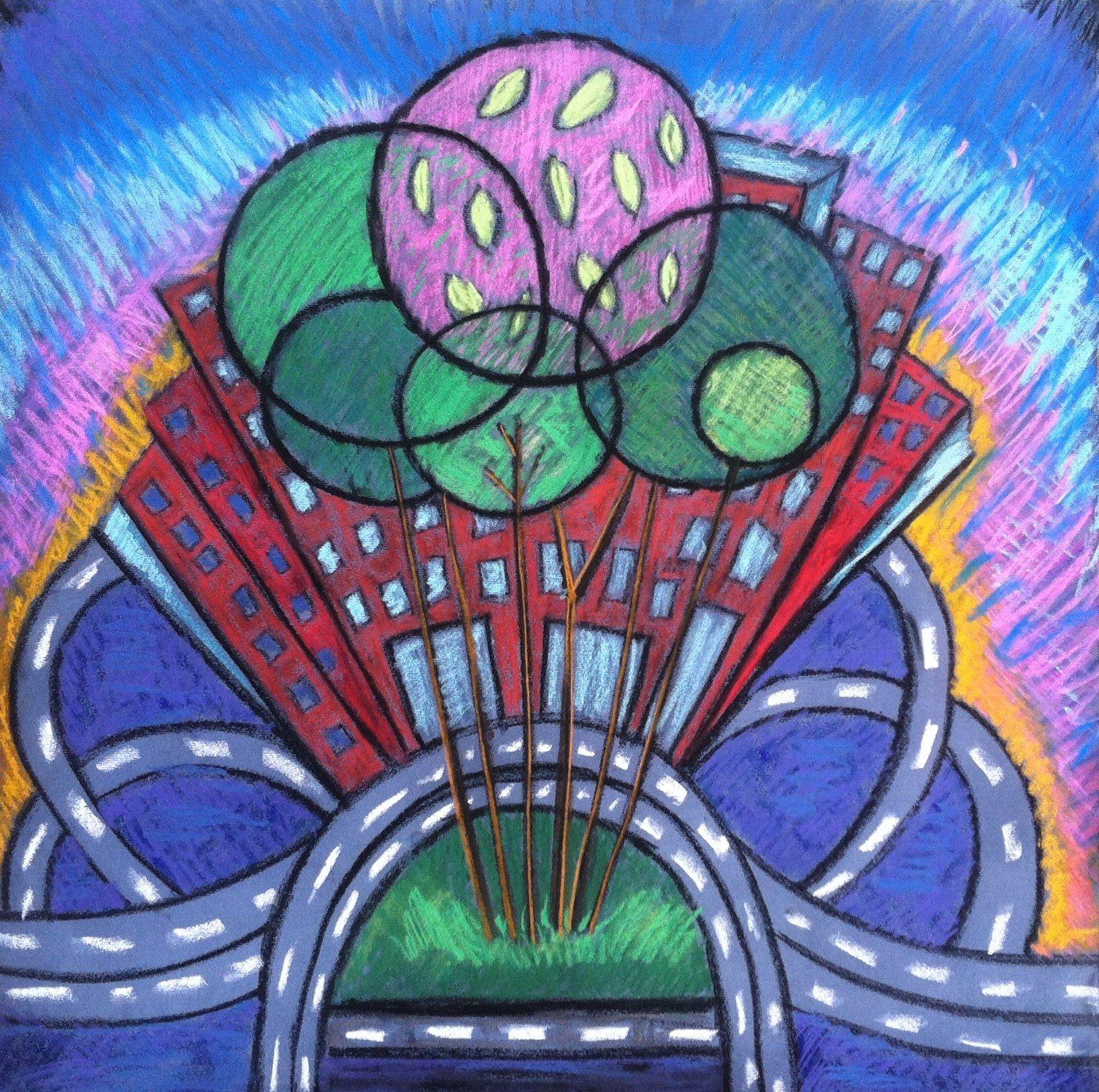 Urban pastel