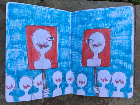 The Sketchbook Project, the real story.