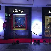 Angel Strings at Cartier