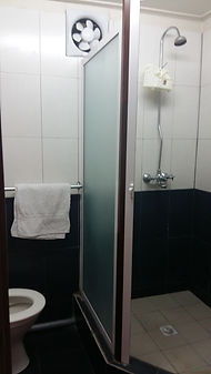 Pereybere self-catering Bathroom