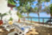 Pereybere luxury beachfront villa private balcony