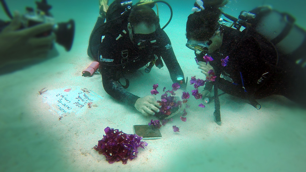 underwater scuba diving proposal mauritius