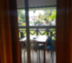 Pereybere self-catering Balcony