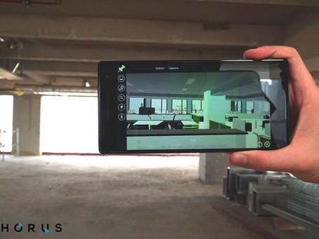 Superposer virtuellement un bâtiment sur site