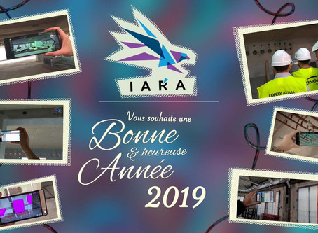 IARA vous souhaite une bonne année 2019 remplie de #bonheur !