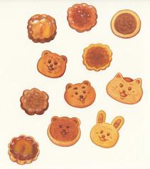 ちょっと焼きすぎたクッキー