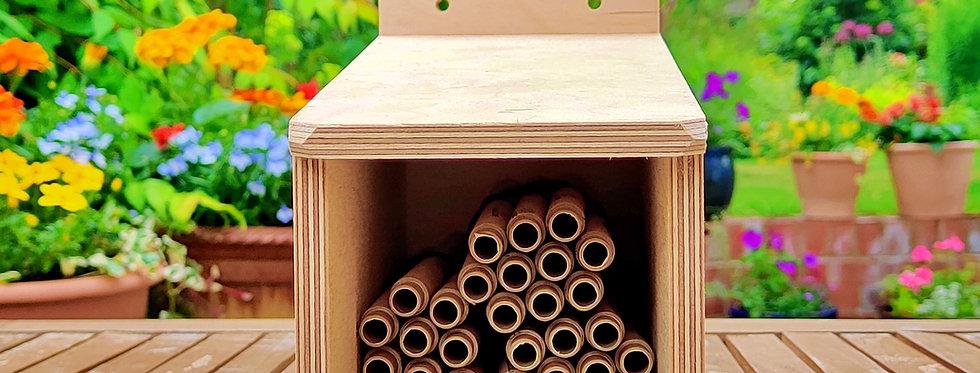 Wooden Nesting Tube Holder