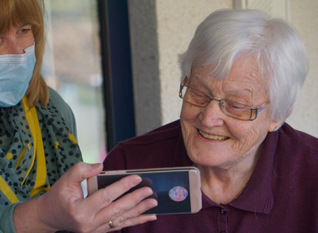 Connecting with the older generation