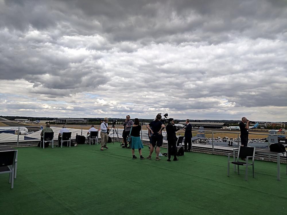 Farnborough International Events and Conference Centre - Flight Deck