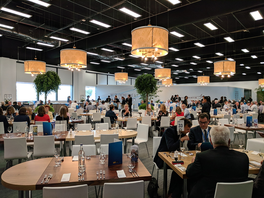 Farnborough International Events and ConferenceCentre Sky View