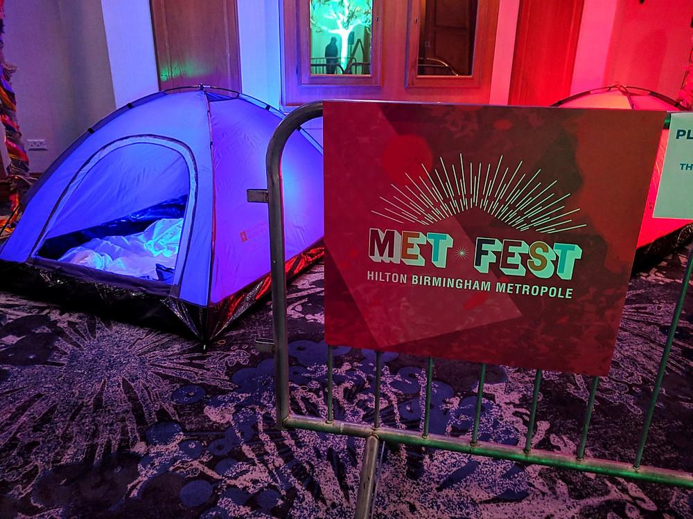 Metfest campsite