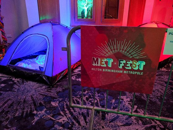 #Metfest: Driving event engagement through creative experiences