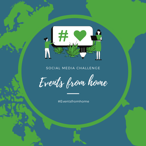 Events from home social media challenge - How to get involved