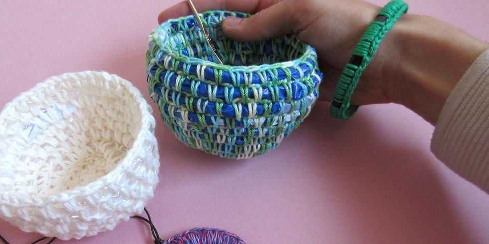 Atelier crochet récup'des optimistes