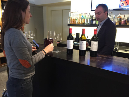 Presenting the red wines of Bodegas Lezcano- Lacalle in Switzerland.