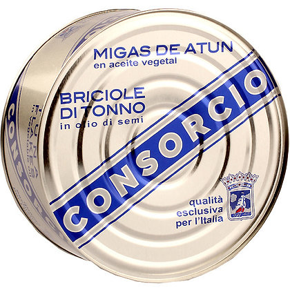 MIGAS DE ATÚN DEL CANTÁBRICO EN ACEITE VEGETAL - R0 1000