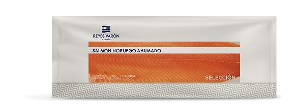 SALMÓN NORUEGO AHUMADO PRECORTADO