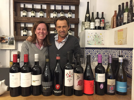 Great tasting at Camino del Vino in Munich with Susana!!