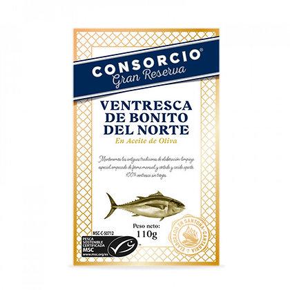 VENTRESCA DE BONITO DEL CANTÁBRICO EN ACEITE DE OLIVA - RR 250