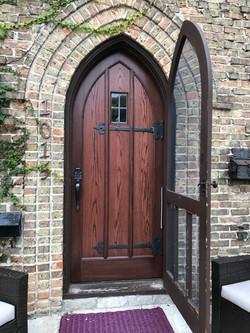 Exterior Door Refinishing