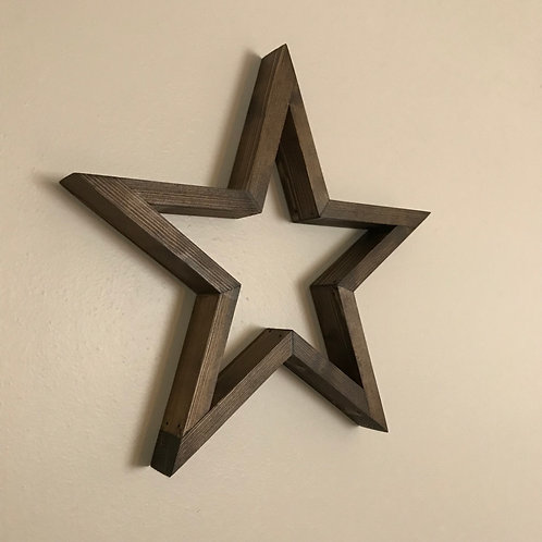 Star Wall Art - Set of 3