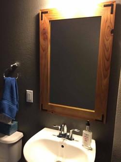 Small Rustic Mirror