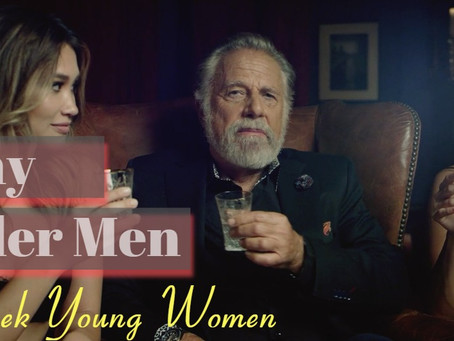 Why Older (Established) Men Look At Women Half Their Age